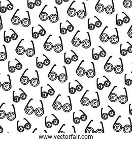 line frame glasses object style background