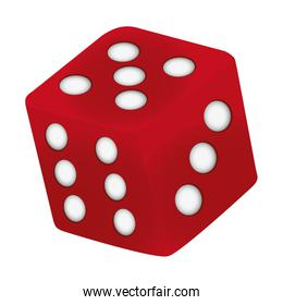 casino cube dice play numbers