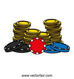 color casino gold coins and wagers opportunity