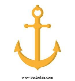 nautical anchor object ship symbol