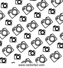 line digital camera equipment object background