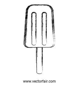 grunge delicious and sweet ice lolly dessert