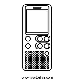 line digital voice recorder equipment technology