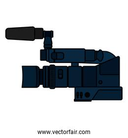 color video camera recorder equipment technology