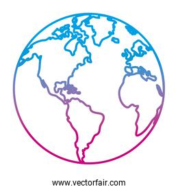 degraded line global earth planet geography continent