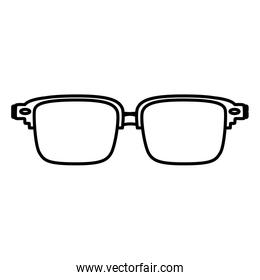 line frame glasses optical object style
