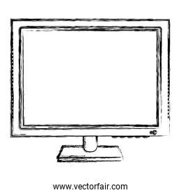 grunge electronic computer screen technology information