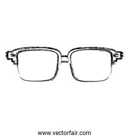 grunge frame glasses optical object style