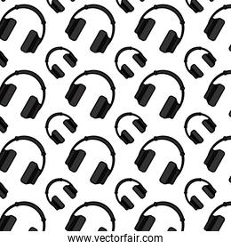color music headphone object technology background
