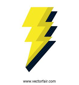 electric thunder darger bolt symbol