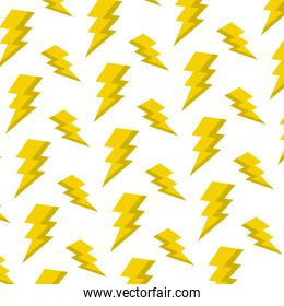 electric thunder darger symbol background