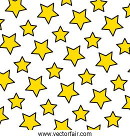 color creative star symbol style background
