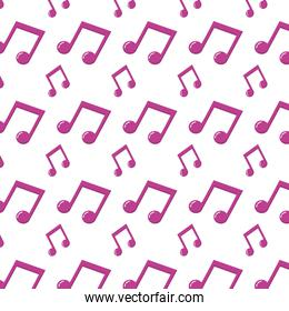 2 eighth musical note rhythm background