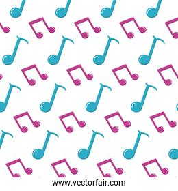 2 eighth note and quarter sign background