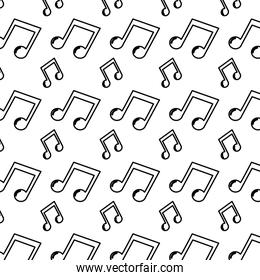 line 2 eighth musical note rhythm background