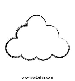 grunge nature fluffy cloud nice style