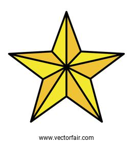 color nice bright star universe style