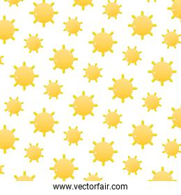 sun with shine ray weather background