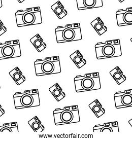 line digital camera electronic object background