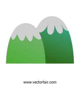 exotic beauty mountains scenary design
