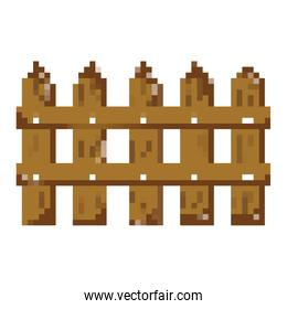 pixelated wood grillage structure texture style