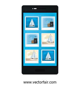 smartphone technology with transports gallery picture