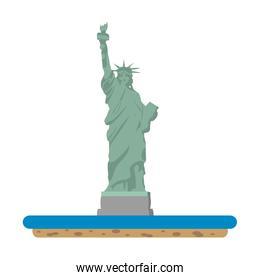 statue liberty sculpture traditional history