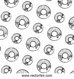 grunge delicious donut sweet pastry background
