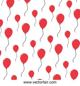 balloon party decoration object background