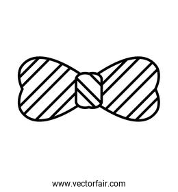 line party lines tie bow carnival