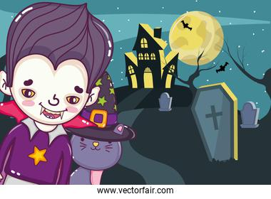 Halloween kids cartoons