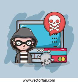 Hacker and security system technology