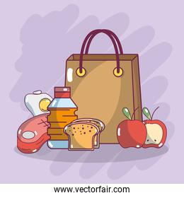 Food supermarket products