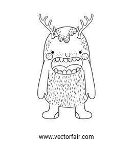 fairytale monster character icon