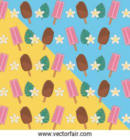 tropical and summer items pattern