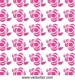cute flowers decoration background
