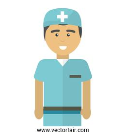 hospital professional doctor with uniform