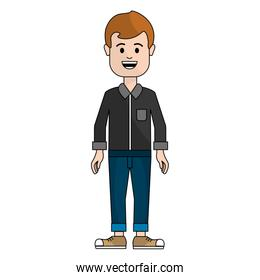 people, man with casual cloth avatar