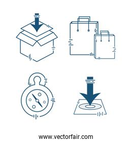 delivery logistic transportation package services