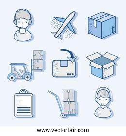 delivery logistic transportation tools services
