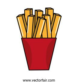 fast food fries french meal