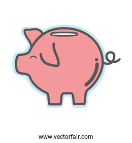 pig icon save money currency