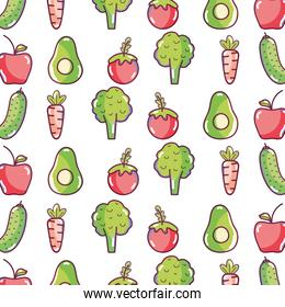 delicious and healthy organic fruits and vegetables