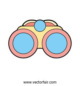 binocular element to use in the exploration