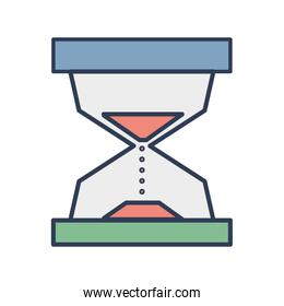 hourglass object to know the time