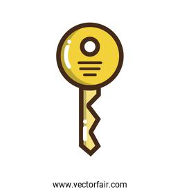 security key icon to web protection
