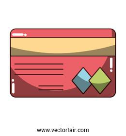 credit card to financial business