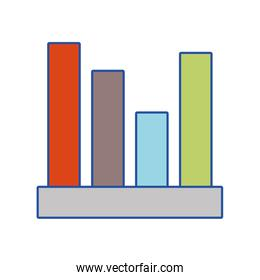 statistic bar to financial graphics business