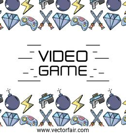 videogame technology elements to game background