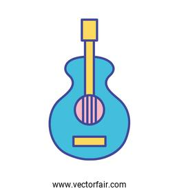 guitar music instrument to melody harmony